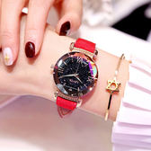 新款防水網紅抖音同款女士手錶女學生韓版簡約時尚潮流ins風【快速出貨限時八折】