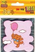 【金玉堂文具】625S-5 狠粘利貼便條紙(小熊) 3M