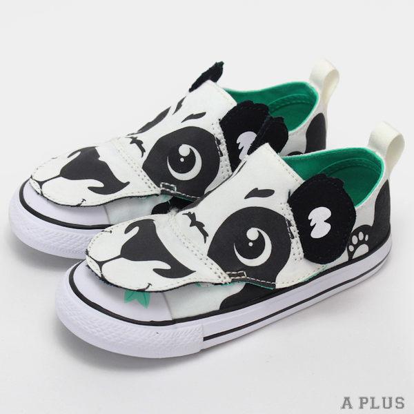 CONVERSE 童 CTAS CREATURES OX WHITE/BLACK/WHITE (休閒)鞋- 756113C