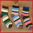 秋冬男士襪子 復古條紋 韓國棉襪 襪子(隨機出貨)【AF02086】i-Style居家生活