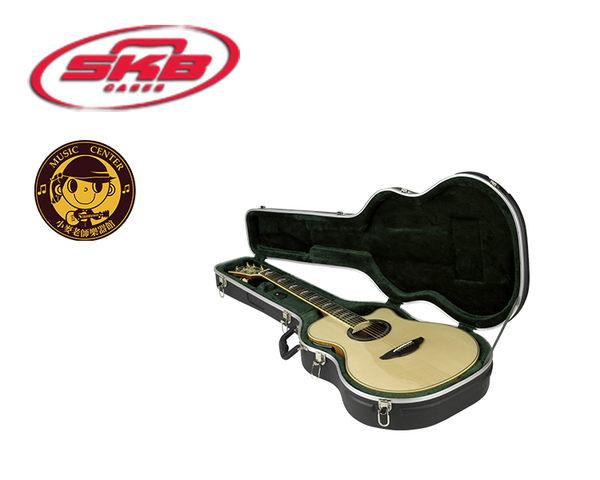 【小麥老師樂器館】SKB SKB-3 進口民謠 古典吉他硬盒 薄桶身適用 SKB3