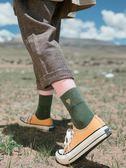4雙秋季長襪子女生中筒襪韓版學院風日系可愛純棉韓國全棉復古潮購物雙11