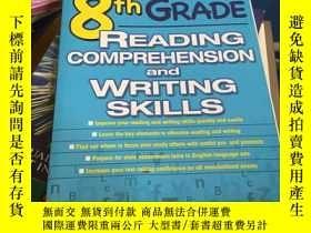 二手書博民逛書店8th罕見Grade Reading Comprehension