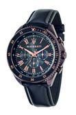 【Maserati 瑪莎拉蒂】/三眼皮帶錶(男錶 女錶)/R8851101008/台灣總代理原廠公司貨兩年保固