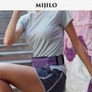 米基洛MIJILO三口袋跑步手機腰包女男馬拉松隱形健身裝備運動腰帶 3C優購