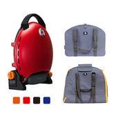 《iroda》入門包套 O-Grill 3000T-熱情紅 / O-Shiel烤爐收納包 + Carry Duo雙烤盤收納袋
