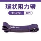 〔45~100LB〕寬3.2cm阻力帶/乳膠阻力繩/彼拉提斯帶/手足運動拉力
