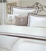 HO KANG  60支棉 JM-9959 白 七件式床罩組