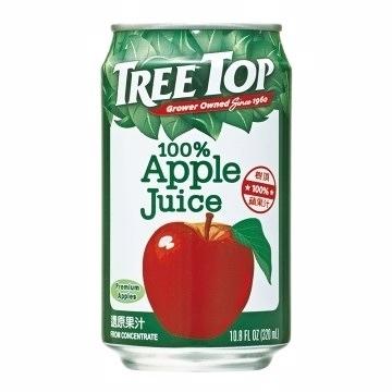 樹頂純蘋果汁鋁罐320ml/罐【合迷雅好物超級商城】