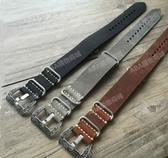 手工頭層牛皮表帶錶帶 G10北約20 22 24 26MM男柔軟適配沛納海真皮表鏈