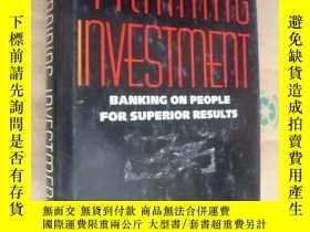 二手書博民逛書店THE罕見TRAINING INVESTMENT:BANKING