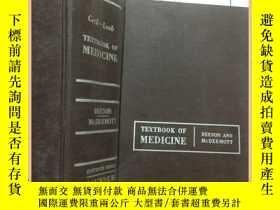 二手書博民逛書店Cecil-Loeb罕見TEXTBOOK OF MEDICINE