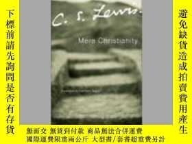二手書博民逛書店Mere罕見Christianity:A revised and enlarged edition, with a