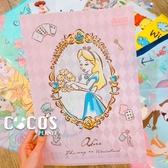 正版 迪士尼系列 公主系列 愛麗絲夢遊仙境 愛麗絲 單層L夾 文件夾 收納夾 COCOS QQ049