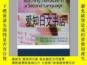 二手書博民逛書店【罕見】 Teaching Literature in a Second LanguageY175576 Br