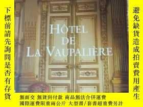 二手書博民逛書店HOTEL罕見DE LA VAUPALIERE【如圖所示】Y28
