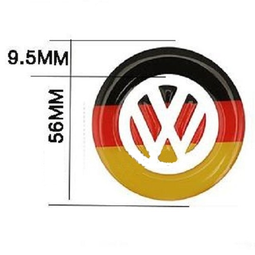 vw 方向盤logo 裝飾貼 蘇格蘭 貼紙 golf polo passat tiguan jetta bora 沂軒精品 a0263