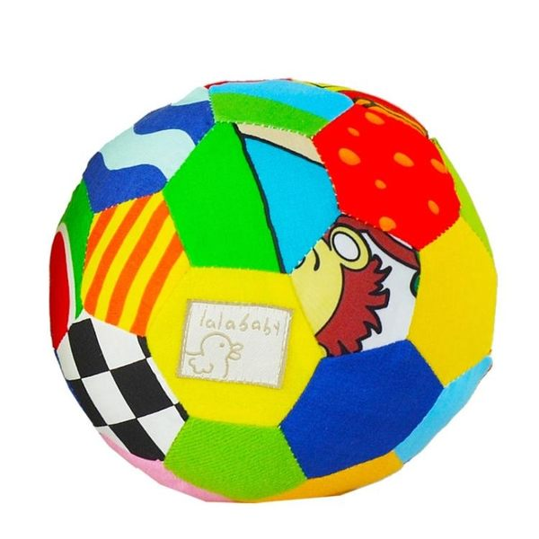 布球嬰兒手抓球3-6-12個月寶寶抓握玩具0-1歲兒童感官球【免運直出八二折】