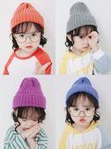 寶寶帽子春秋冬針織保暖套頭毛線帽女童潮流1-3歲男童 新款韓 薇薇