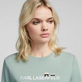 Karl Lagerfeld 卡爾 老佛爺 IKONIK Choupette 運動衫-綠