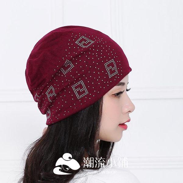 月子帽產婦帽秋款頭巾孕婦帽子薄款 潮流小鋪