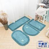 防滑墊衛生間吸水地墊浴腳墊家用廁所浴室臥室地毯【英賽德3C數碼館】