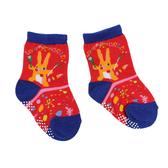 【愛的世界】森林裡的畫家止滑透氣襪/9~15CM-台灣製- ---童鞋童襪
