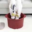 泡腳桶 過小腿家用高深桶塑料泡腳盆足浴盆加高按摩洗腳足浴桶TW【快速出貨八折搶購】