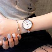 真皮細帶手錶女韓版女士簡約時尚潮流