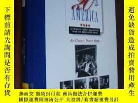 二手書博民逛書店20th罕見Century America: an uneasy peace 1988- (1.End of th