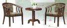 【南洋風傢俱】房間椅洽談椅系列-休閒小茶几桌椅組 CX897-5 CX607-6
