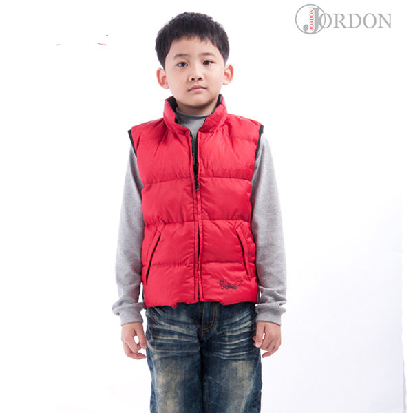 【FOX FRIEND】兒童雙面穿羽絨背心 0125