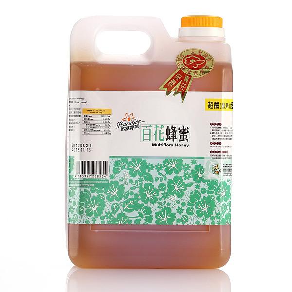 宏基.百花大桶蜜(3000g/瓶)﹍愛食網