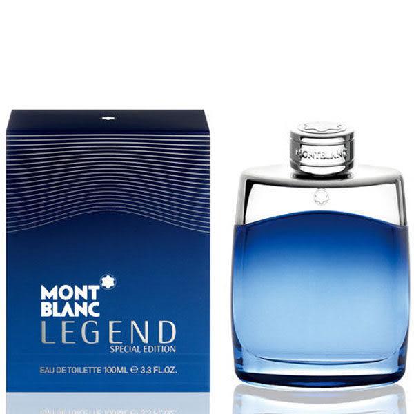 MONTBLANC 萬寶龍 傳奇藍調經典男性淡香水 100ml 61551《Belle倍莉小舖》