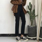 直筒長褲 寬鬆顯瘦港味百搭牛仔褲女學生 【好康八八折】