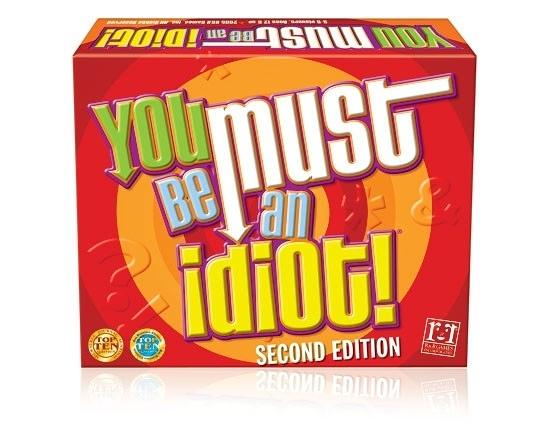 【KANGA GAMES】真是傻瓜 You Must Be An Idiot! 家庭益智派對桌上遊戲 (清倉遊戲,售完為止)