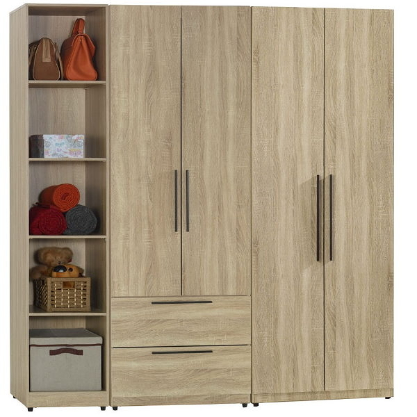 衣櫃 衣櫥 SB-551-4 凱文6尺組合衣櫃【大眾家居舘】