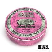 REUZEL Pink Pomade Grease 粉紅豬超強髮油 340g