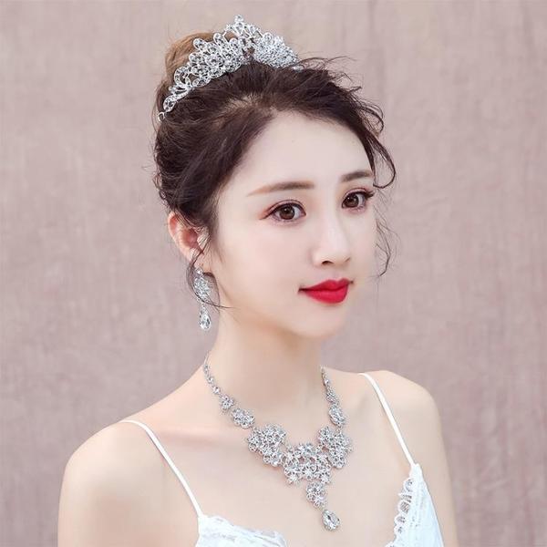 韓式婚禮結婚首飾婚紗配飾
