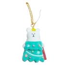 【五折】宇宙人 聖誕節 聖誕樹吊飾 娃娃吊飾 熊熊 craftholic 日本正版 該該貝比日本精品