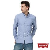 Levis 牛仔襯衫 男裝 / 修身版型 / 單口袋 / 簡約素面