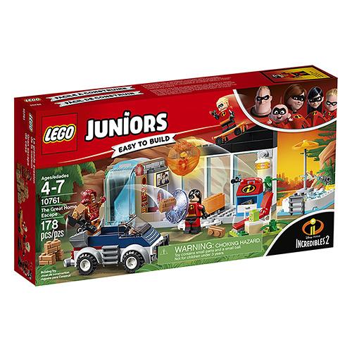 樂高積木 LEGO《 LT10761 》Junior 超人特攻隊 - 超能家庭大逃亡╭★ JOYBUS玩具百貨