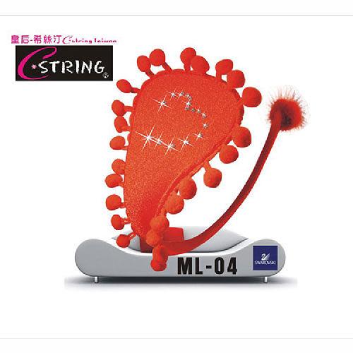 【伊莉婷】皇后希絲汀 C-String QQ棉花糖系列 貴族紅