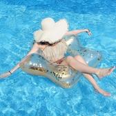 bestway游泳圈大人網紅成人女加厚大號便攜水上充氣玩具救生泳圈 阿卡娜