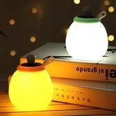 夜光燈 小夜燈宿舍床頭燈兒童硅膠睡眠臥室燈遙控拍拍夜光燈可充電節能燈