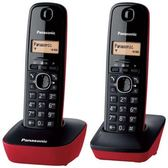 Panasonic 國際牌 數位雙手機無線電話 KX-TG1612 紅