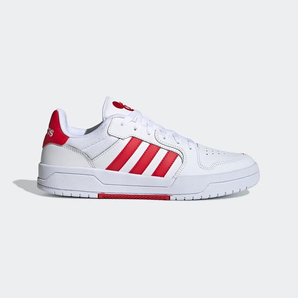 Adidas Entrap [FW7010] 男鞋 運動 休閒 慢跑 舒適 穿搭 情侶 舒適 訓練 時尚 愛迪達 白紅