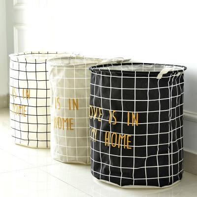 棉麻收納桶