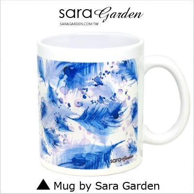 客製 手作 彩繪 馬克杯 Mug 手繪 渲染 漸層 羽毛 咖啡杯 陶瓷杯 杯子 杯具 牛奶杯 茶杯