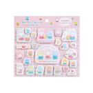 Sanrio Cheery Chums好朋友系列立體毛氈貼紙★funbox★_224481